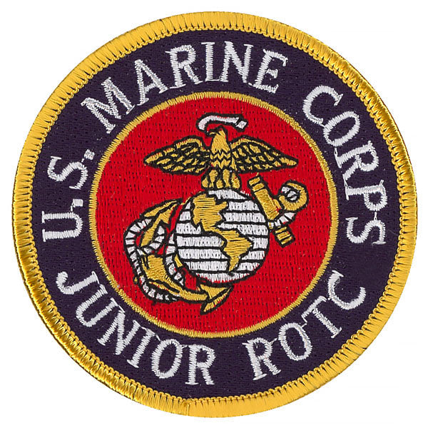 Marine Corps JROTC Patch - color