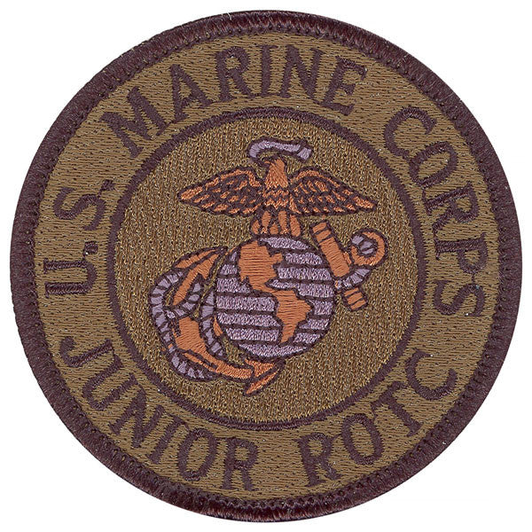 Marine Corps JROTC Patch - subdued (NON-RETURNABLE)