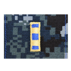 Warrant Officer 2 (WO2) Collar Device on Blue Digital Embroidered