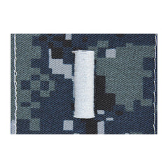 Lieutenant Junior Grade (LTJG) Collar Device on Blue Digital Embroidered