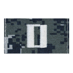 Lieutenant  (Lt) Collar Device on Type I Blue Digital Embroidered