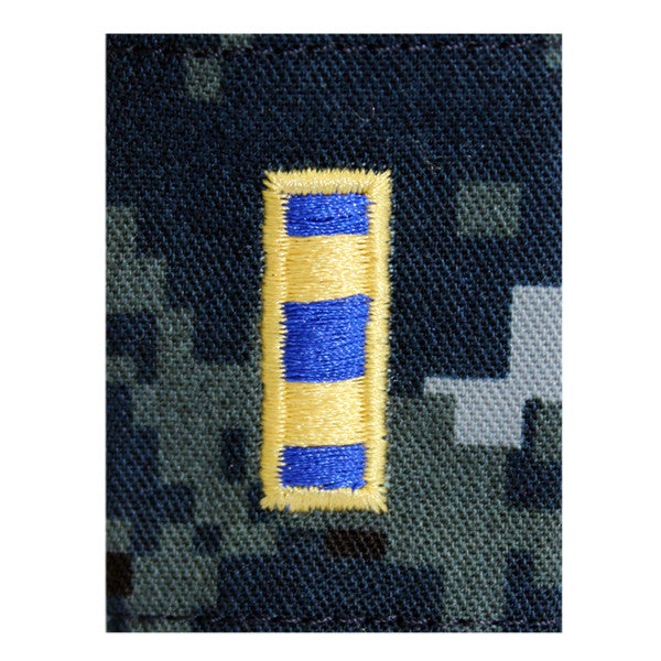 Warrant Officer (WO2) Parka Tab Blue Digital Embroidered