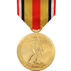 Full Size Medal: Selected Marine Corps Reserve - anodized