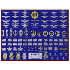 Air Force Poster: Badges