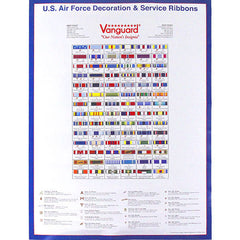 Air Force Poster: Ribbons