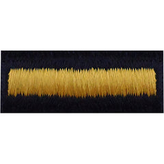 Army Overseas Bar: Gold Embroidered on Blue - male