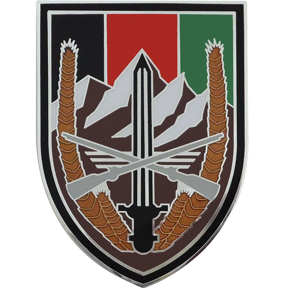 Army Combat Service Identification Badge (CSIB): Army Element United States Forces - Afghanistan