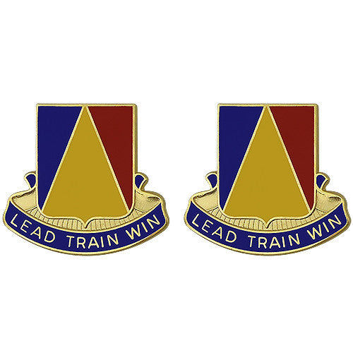 Army Crest: National Training Center - Lead Train Win