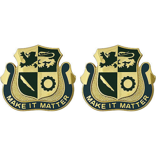 Army Crest: Special Troops Battalion First Armored Division - Make it Matter