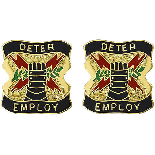 Army Crest: US Army Element US Strategic Command - Deter Employ