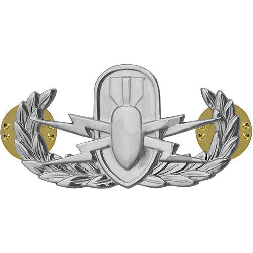 Army Badge: Explosive Ordnance Disposal - regulation size, mirror finish