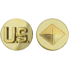 Army Enlisted Branch of Service Collar Device: U.S. and Finance