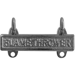 Army Qualification Bar: Flame Thrower - mirror finish