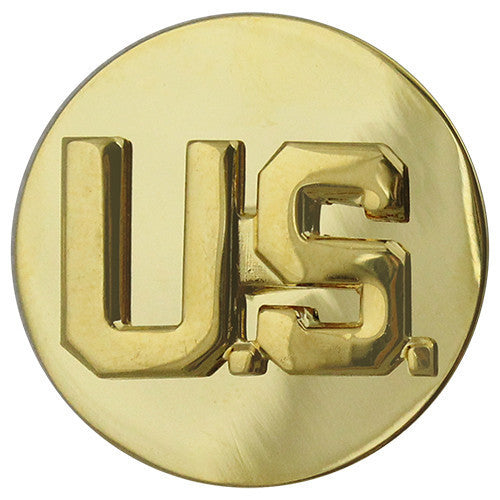 Army Enlisted Branch of Service Collar Device: U.S. and U.S.
