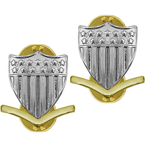 Coast Guard Metal Collar Device: E4 Petty Officer