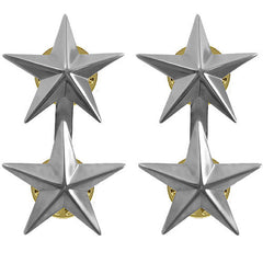 Coat Device: Two-Star Rear Admiral - point to center stars
