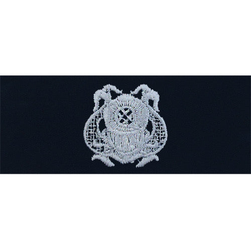 Navy Embroidered Badge: Diver First Class - embroidered on coverall