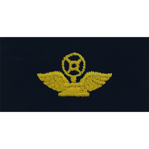 Navy Embroidered Collar Device: Air Traffic Control Technician - coverall