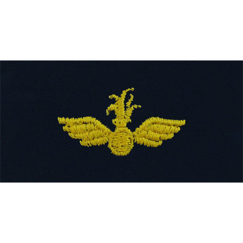 Navy Embroidered Collar Device: Aviation Ordnance - coverall