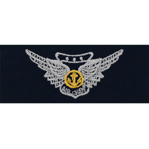 Navy Embroidered Badge: Combat Aircrew - embroidered on coverall