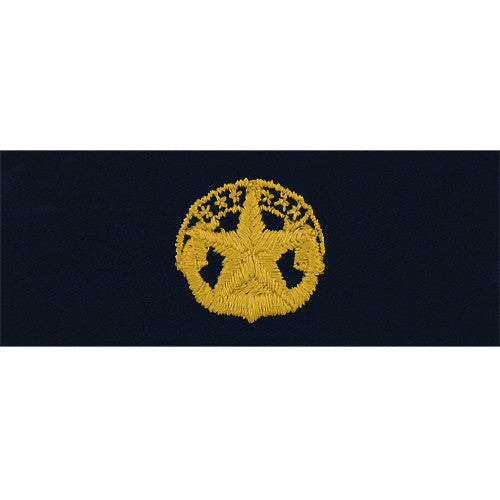 Navy Embroidered Badge: Command at Sea - embroidered on coverall