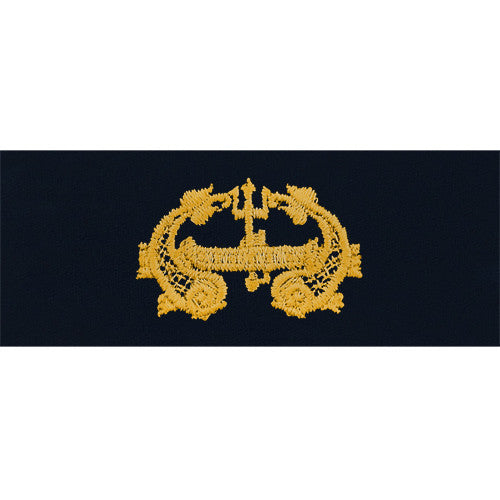 Navy Embroidered Badge: Deep Submergence Officer - coverall