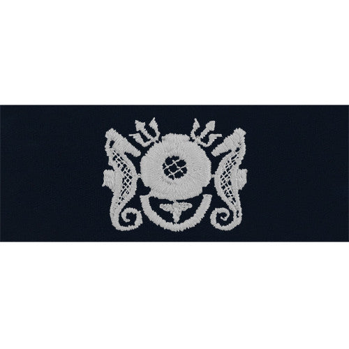 Navy Embroidered Badge: Diving Medical Technician Enlisted - coverall
