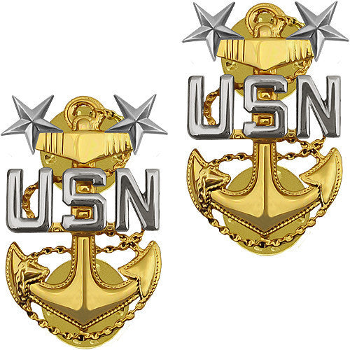 Usn E 9 Master Cpo Coat Device Vanguard