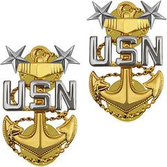 Navy Coat Device: E9 Chief Petty Officer: Master