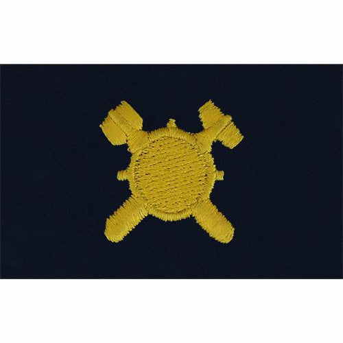 Navy Embroidered Collar Device: Explosive Ordnance - coverall