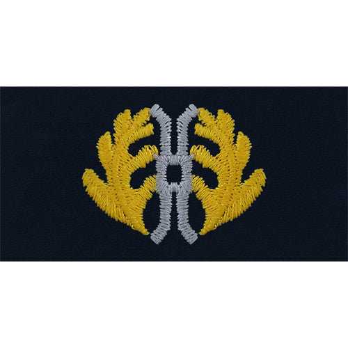 Navy Embroidered Collar Device: Judge Advocate General - coverall
