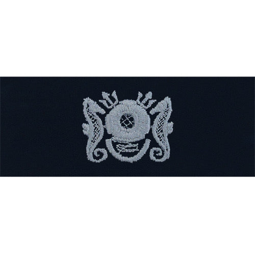 Navy Embroidered Badge: Master Diver Enlisted. - coverall
