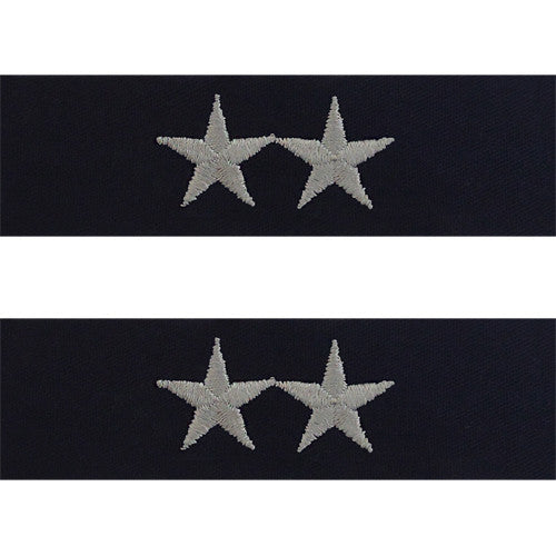Navy Embroidered Collar Device: Rear Admiral Upper - coverall
