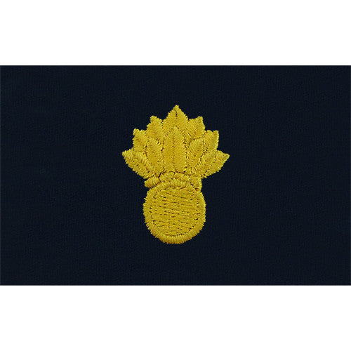 Navy Embroidered Collar Device: Ordnance Technician - coverall