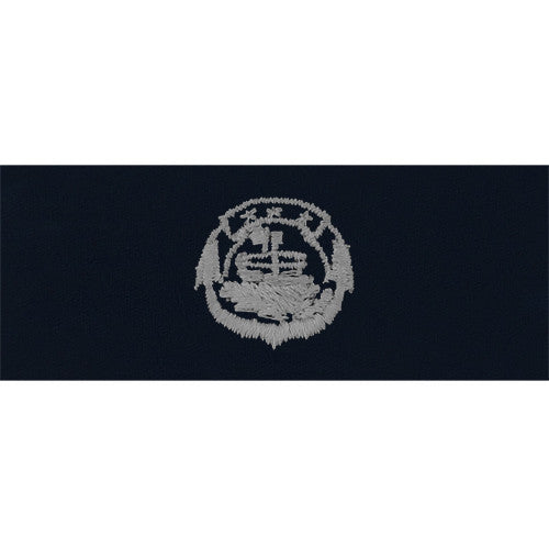Navy Embroidered Badge: Small Craft Enlisted - embroidered on coverall