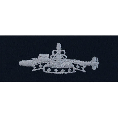 Navy Embroidered Badge: Submarine SSBN Deterrent Patrol - coverall