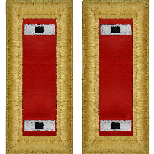 Army Shoulder Strap: Warrant Officer 1: Artillery