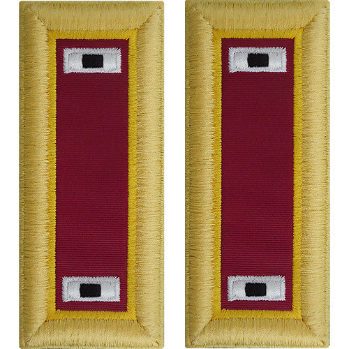 Army Shoulder Strap: Warrant Officer 1: Ordnance