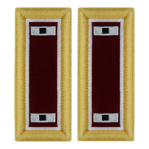 Army Shoulder Strap: Warrant Officer 1: Medical - female