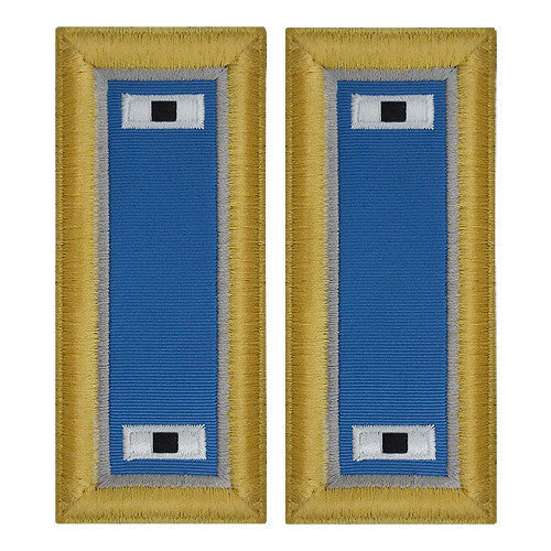 Army Shoulder Strap: Warrant Officer 1: Military Intelligence - female