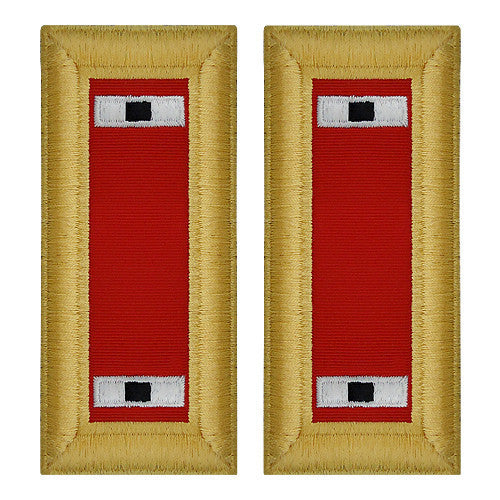 Army Shoulder Strap: Warrant Officer 1: Artillery - female