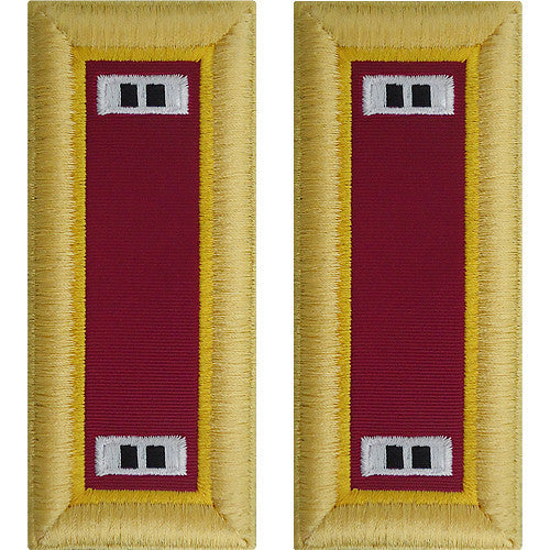 Army Shoulder Strap: Warrant Officer 2: Ordnance