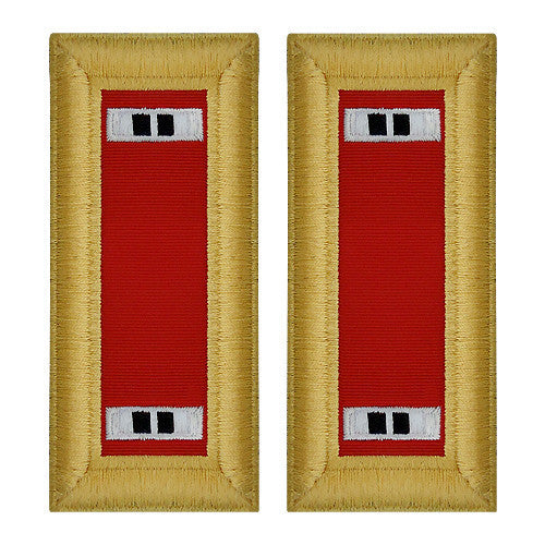 Army Shoulder Strap: Warrant Officer 2: Artillery - female