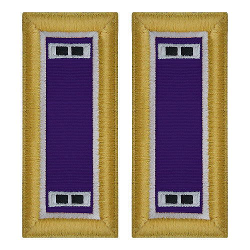Army Shoulder Strap: Warrant Officer 2: Civil Affairs - female