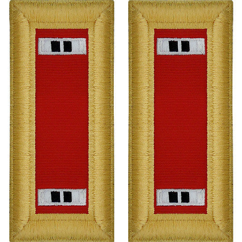 Army Shoulder Strap: Warrant Officer 2: Artillery