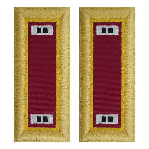 Army Shoulder Strap: Warrant Officer 2: Ordnance - female