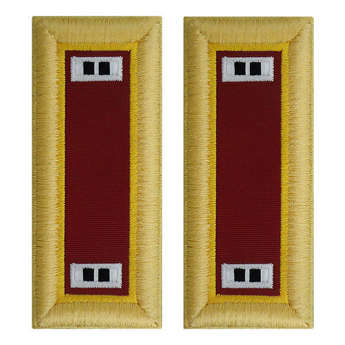 Army Shoulder Strap: Warrant Officer 2: Transportation - female
