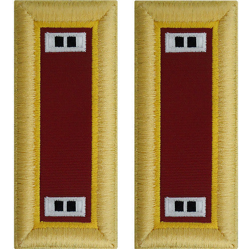Army Shoulder Strap: Warrant Officer 2: Transportation