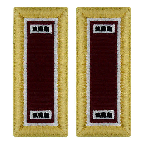 Army Shoulder Strap: Warrant Officer 3: Medical - female