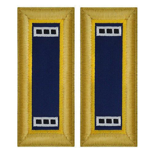 Army Shoulder Strap: Warrant Officer 3: Chemical - female